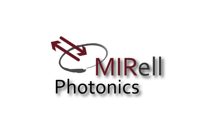 MIRell Photonics Logo rot grau schwarz