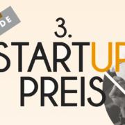3. Startup-Preis Würzburg 2018 Titelbild