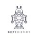 BOTfriends Logo schwarz auf weiß