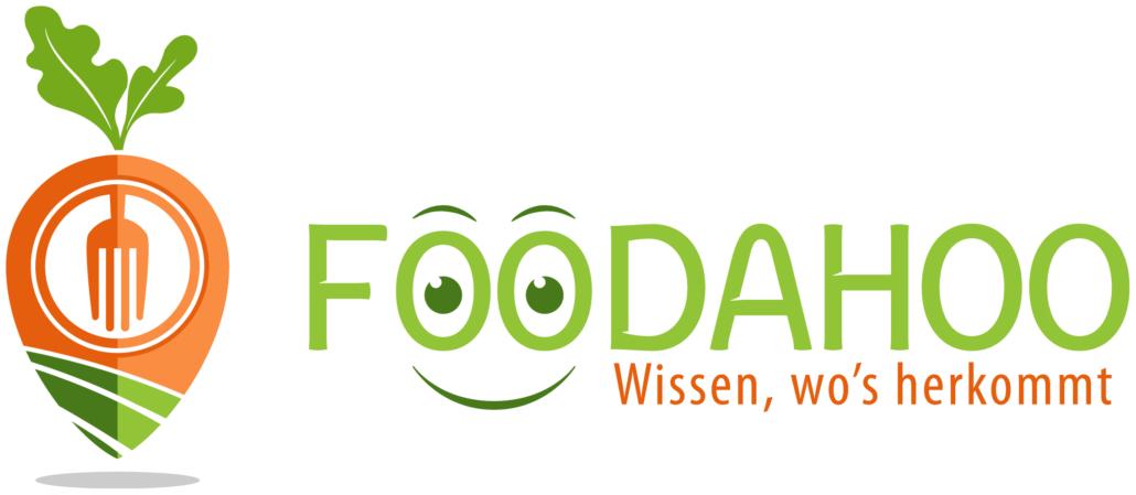 foodahoo logo KArotte, Schriftzug