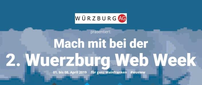 Würzburg Web Week 2019 Banner, Würzburg AG