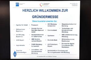 Aussteller der GRündermesse MAinfranken in der IHK Würzburg