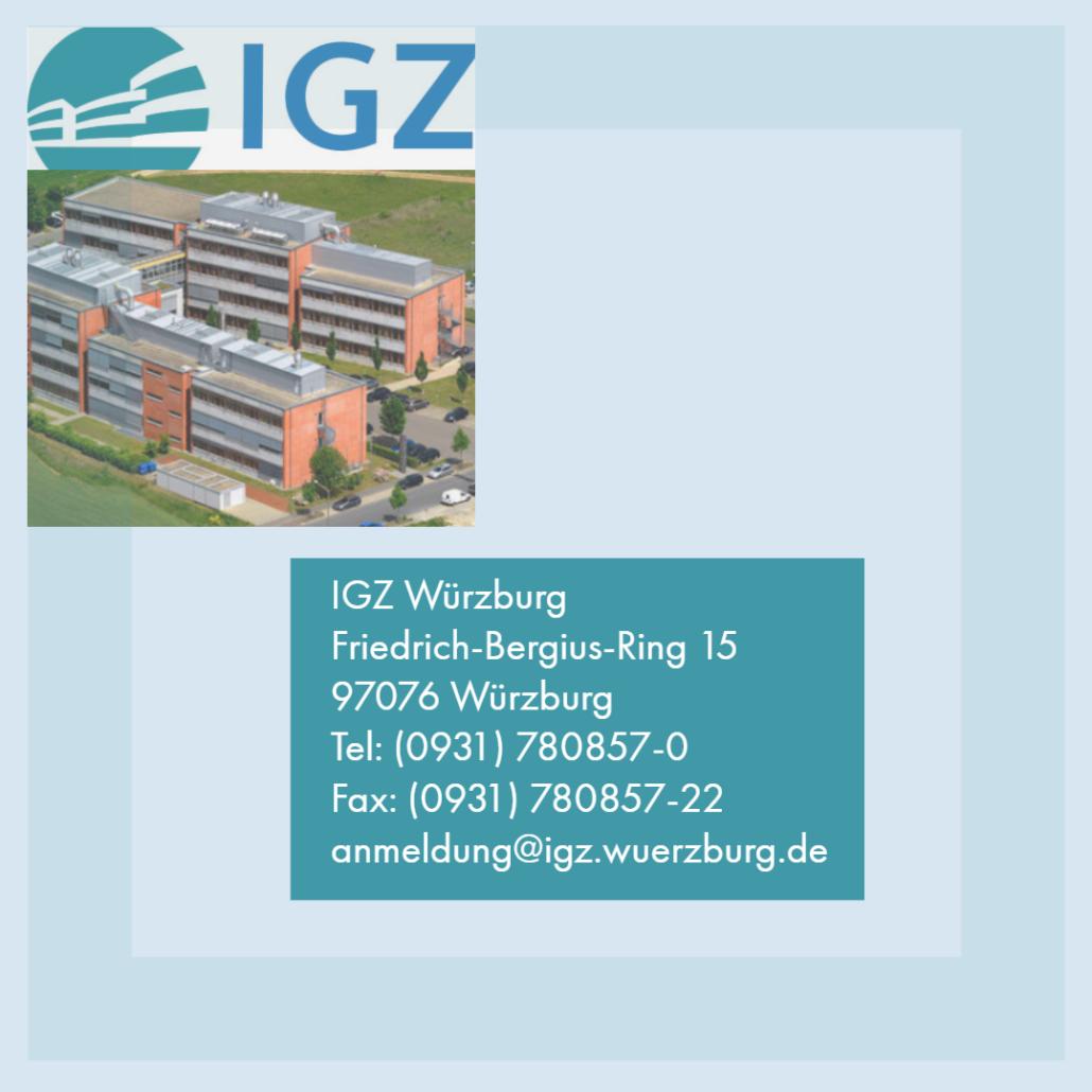 Adresse IGZ Würzburg