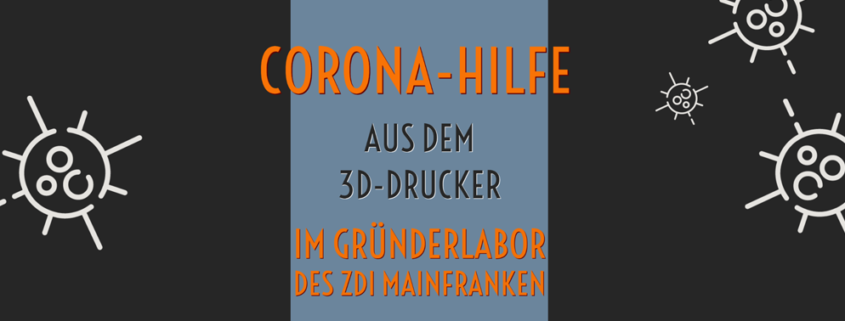 corona hilfe 3d drucker