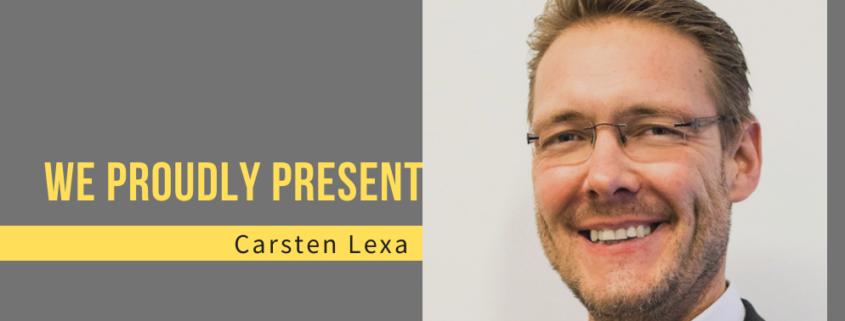 Titlebild we proudly present carsten lexa