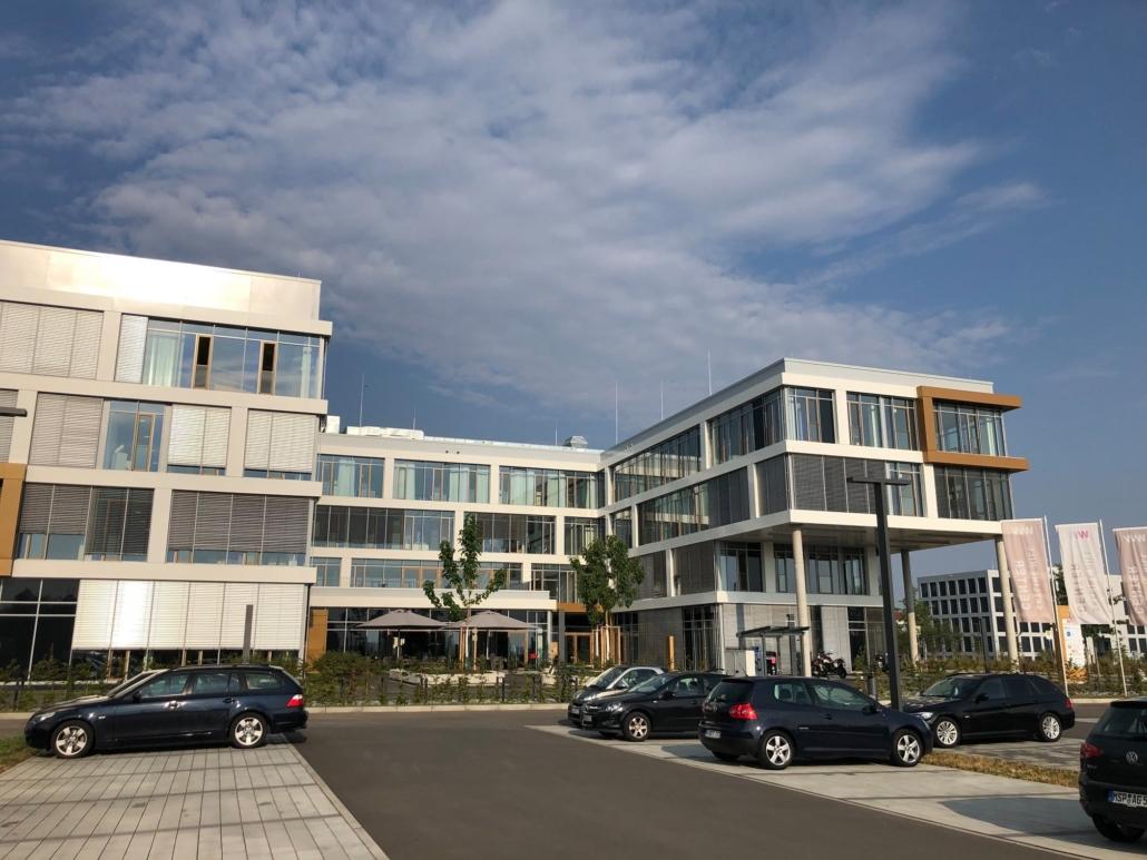 Gebäude am Hubland: Inkubator
